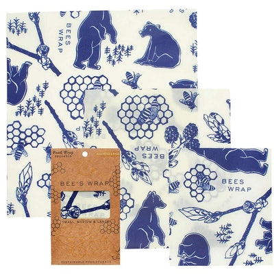 Bee's Wrap Beeswax Food Wraps (3-Pack)