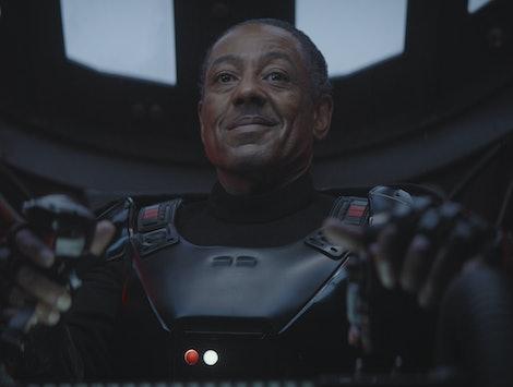 Giancarlo Esposito as Moff Gideon in The Mandalorian