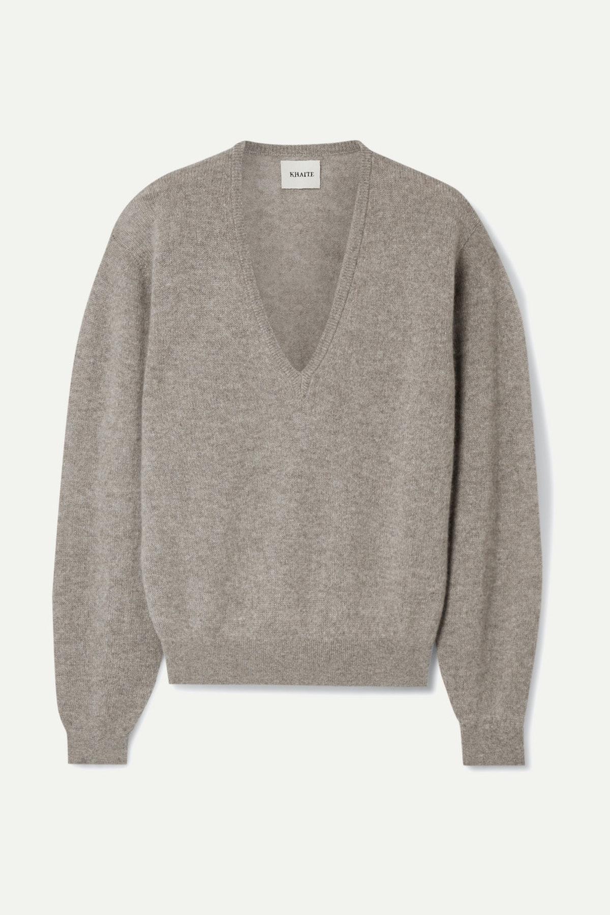 Stretch Cashmere Sweater