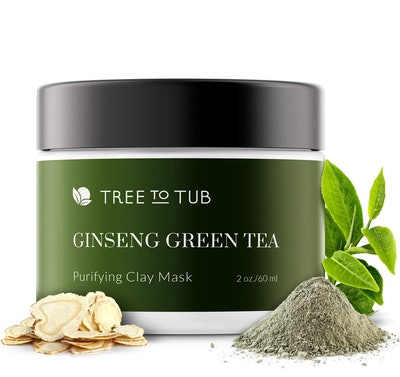 Tree to Tub Activated Charcoal Clay Mask