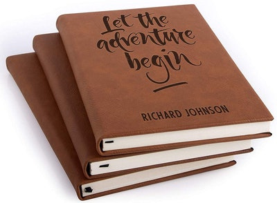 Personalized Favors Personalized Leather Journal