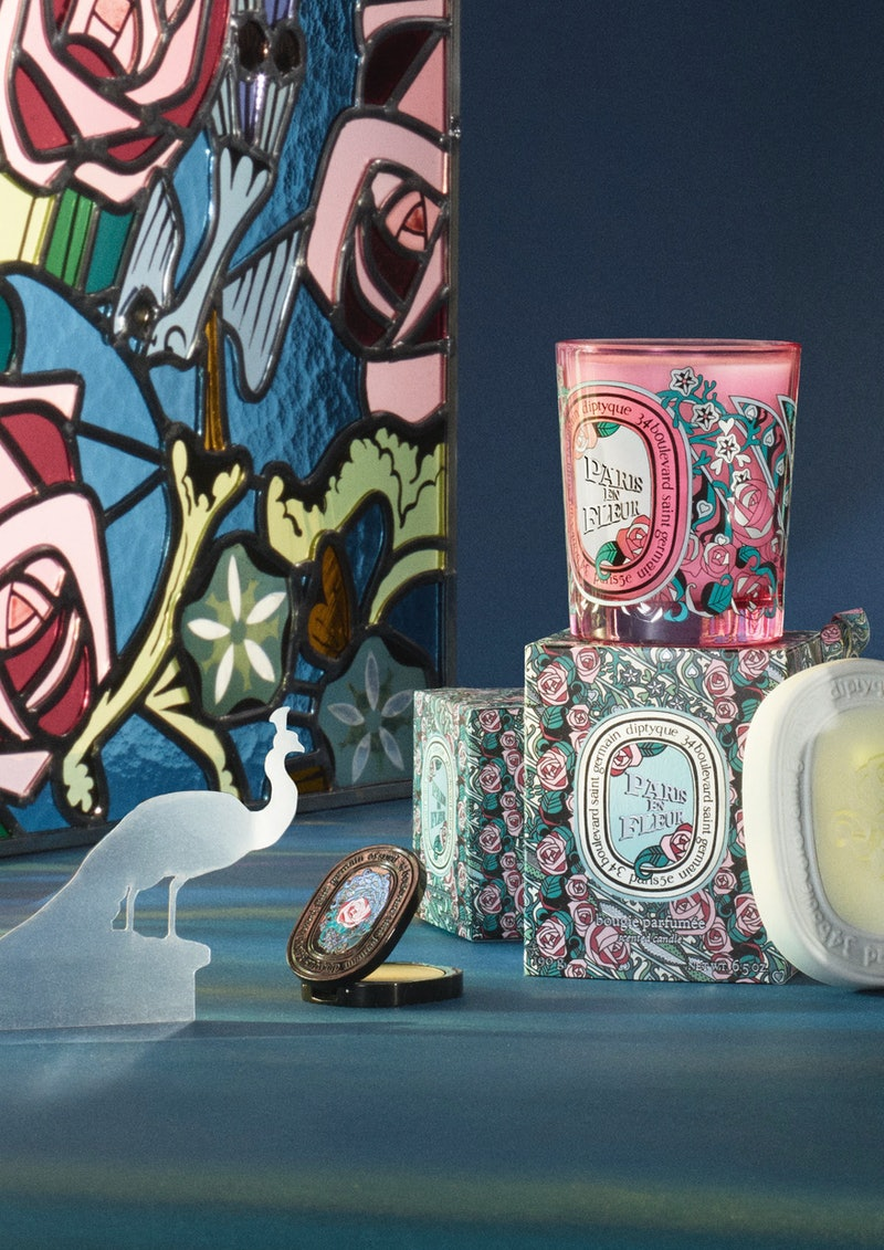 diptyque's new Paris En Fleur Collection is a limited-edition collection only available for a few weeks.