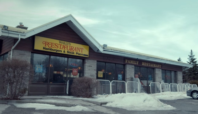 Wally's Restaurant in Spinning Out Episode 3