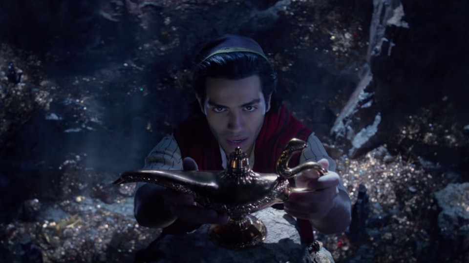 "The live-action ""Aladdin"" is coming to Disney+ in January."