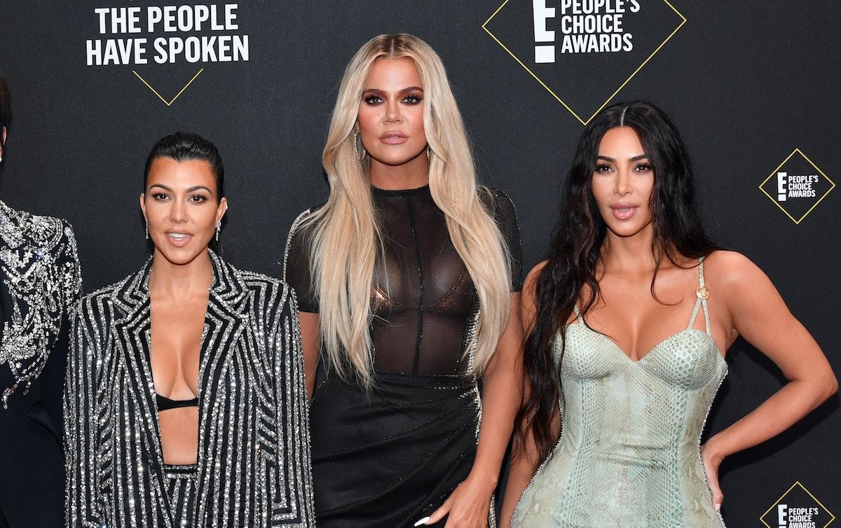 The Kardashian-Jenner sisters' 2019 Christmas photo included Kourtney, Khloé, and Kim Kardashian, as well as Kendall and Kylie Jenner.