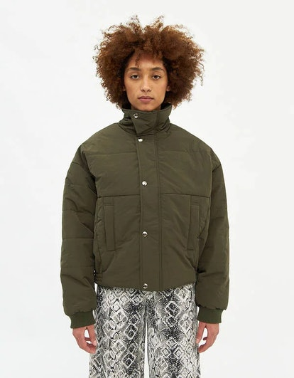 Willow Puffer Jacket in Olive