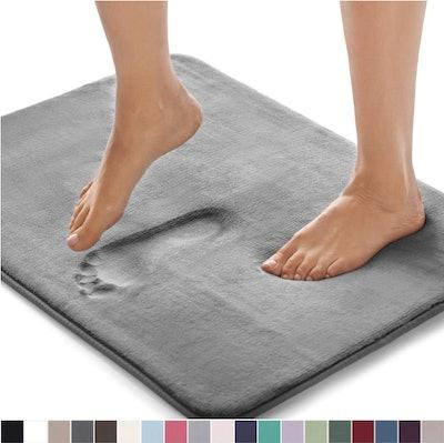 Gorilla Grip Original Thick Memory Foam Bath Rug