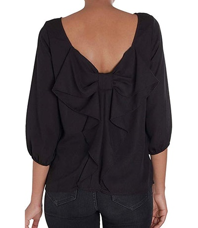 Humble Chic Bow Back Blouse