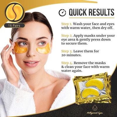 BrightJungle Under Eye Collagen Patch