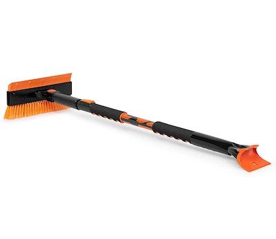 BirdRock Home Extendable Ice Scraper with Brush