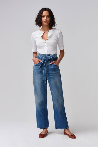 Kelly Paperbag High Rise Jeans