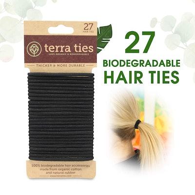 Terra Ties Biodegradable Hair Ties (27-Pack)