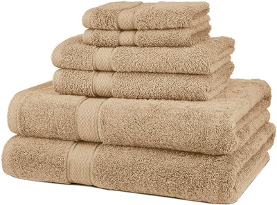 Pinzon Blended Egyptian Cotton Bath Towel Set