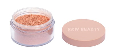 Rose Gold Loose Shimmer Powder For Face & Body