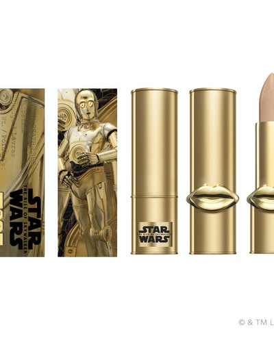 "Lip Fetish Lip Balm in ""Gold Astral"" from Pat McGrath Labs' Star Wars: The Rise Of Skywalker collection"