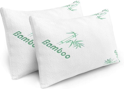 Plixio Bamboo Hypoallergenic Pillows (2-Pack)