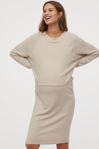 MAMA Maternity/ Nursing Dress