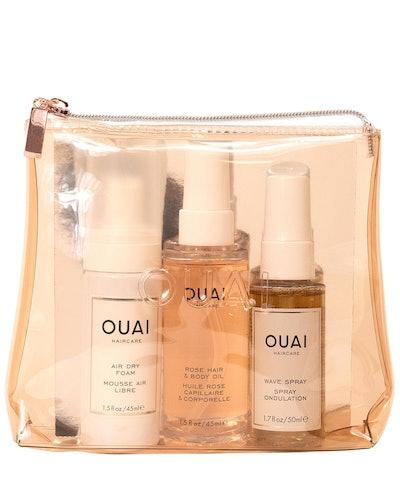Ouai The Easy OUAI Hair Care Travel Kit