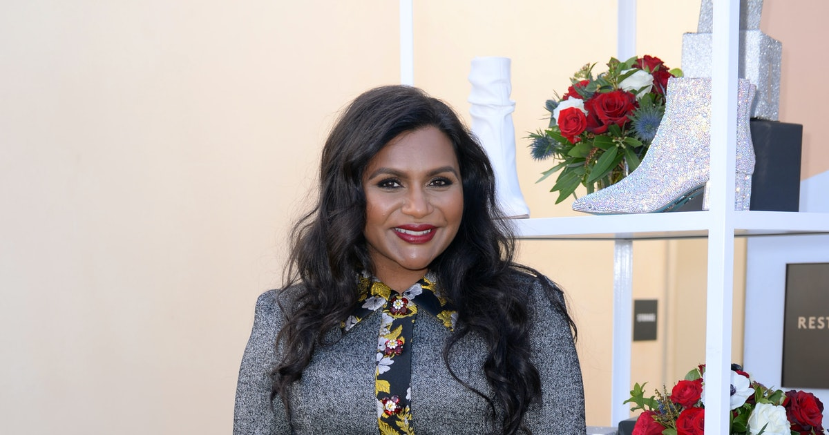 Mindy Kaling On The Best Gifts To Give, Her Go-To Holiday Outfit, & How She's Giving Back This Season