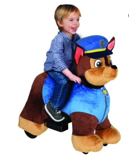 Paw Patrol 6 Volt Plush Chase Ride-on