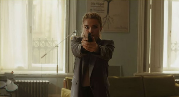 Florence Pugh as The Other Black Widow
