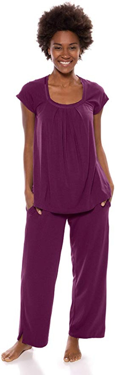 Texere Women's Bamboo Viscose Pajama Set