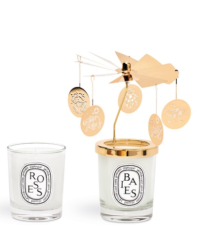 Diptyque Candle and Carousel Set