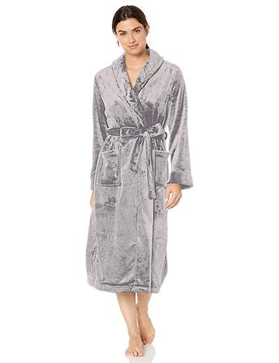 Amazon Essentials Women's Full-Length Plush Robe