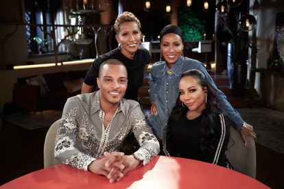 'Red Table Talk' T.I., Tiny, Jada Pinkett Smith