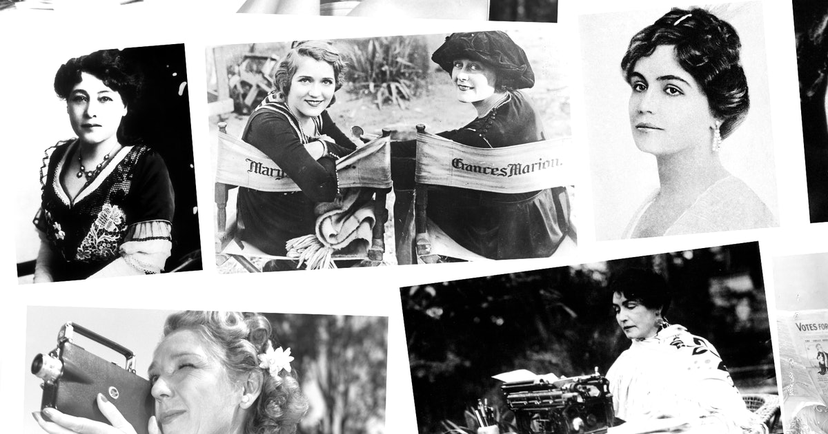 Meet The Women Who Pioneered The Film Industry