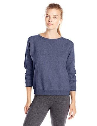 Hanes Women's V-Notch Pullover Fleece