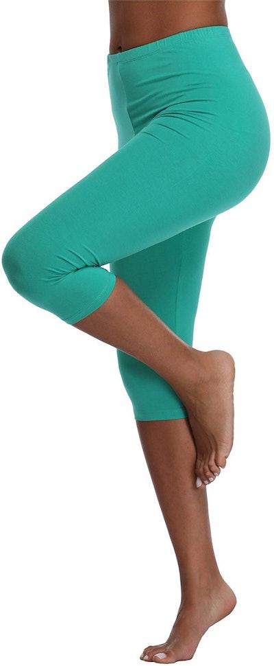 Kotii Women's Capri Legging Yoga Pants