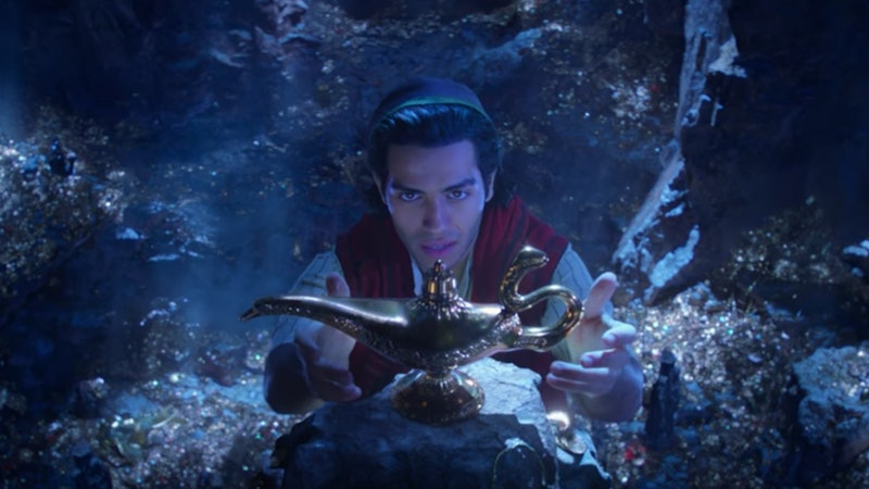 Mena Massoud stars as Aladdin in the live-action Disney film.
