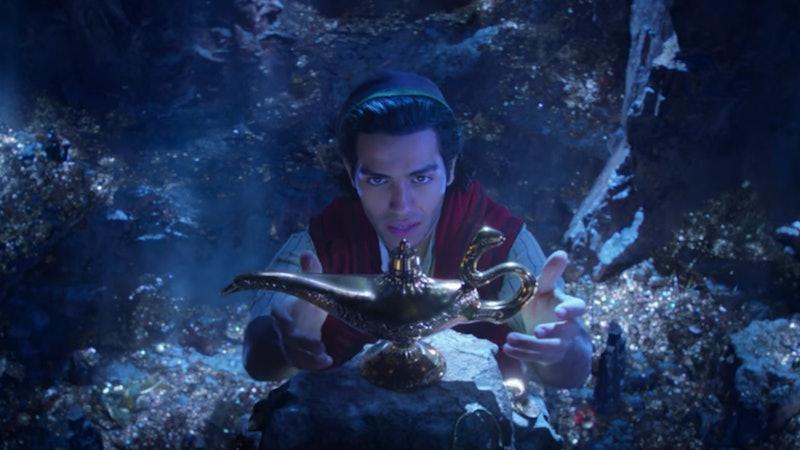 Mena Massoud stars as Aladdin in the live-action Disney film.