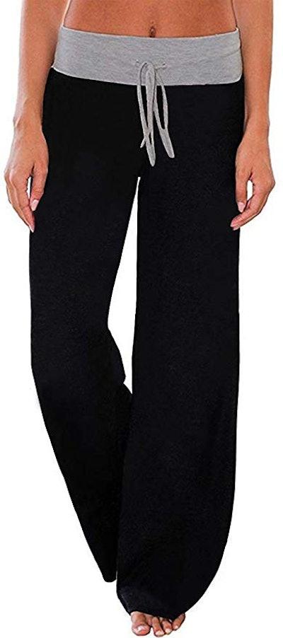 AMiERY Women's Comfy Casual Pajama Pants