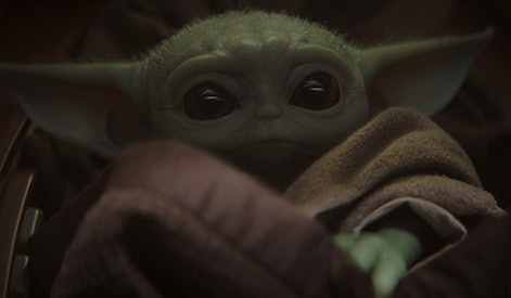 "The Child, aka ""Baby Yoda,"" is the small, green, wrinkled breakout star of Disney's ""The Mandalorian."""