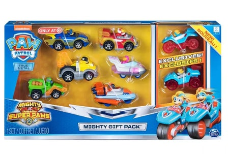 PAW Patrol Mighty Pups Gift Set 8 pc