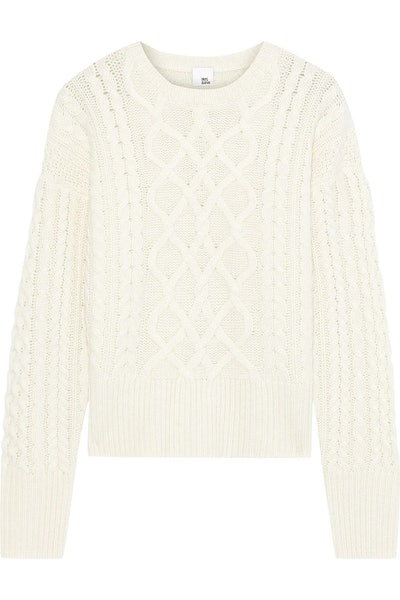 Iona Cable-Knit Cashmere Sweater