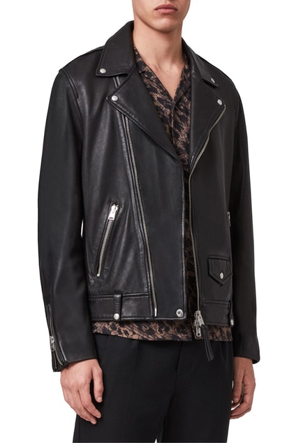 Milo Leather Biker Jacket ALLSAINTS