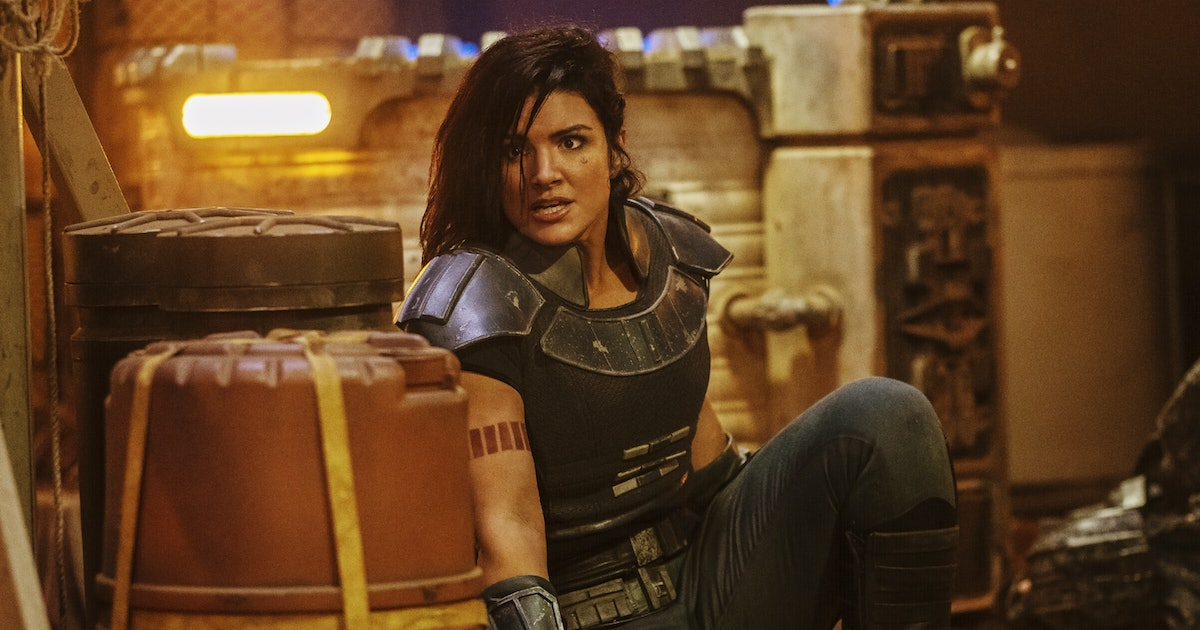 What Gina Carano's 'Mandalorian' Character Taught Her About Self-Acceptance
