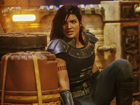 Gina Carano as Cara Dune in The Mandalorian.