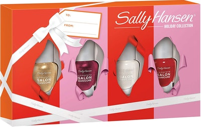 Sally Hansen Holiday Collection Complete Salon Manicure Nail Polish