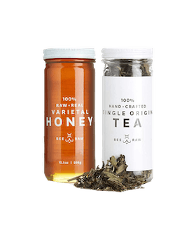 White Peony Tea & Orange Blossom Honey Pairing