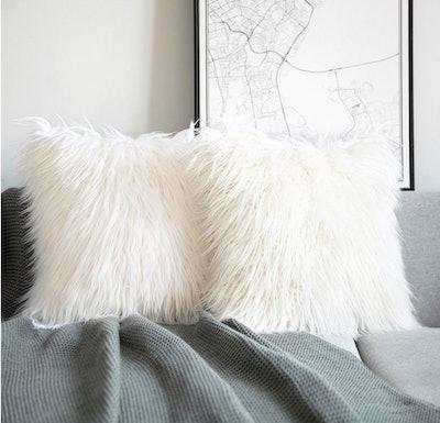 Phantoscope Luxury Series Throw Pillow Covers (2-Pack)