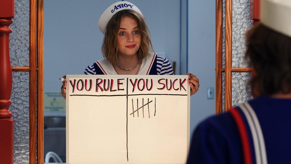 Maya Hawke as Robin in Stranger Things