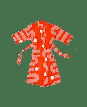 Sidewinder Robe in Poppy