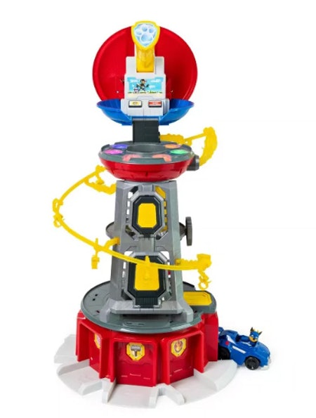PAW Patrol Super Mighty Pups Lookout Tower – Chase
