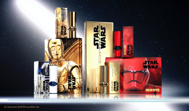 Pat McGrath Labs' Star Wars: The Rise Of Skywalker collection palettes, lipstick, and lip balm
