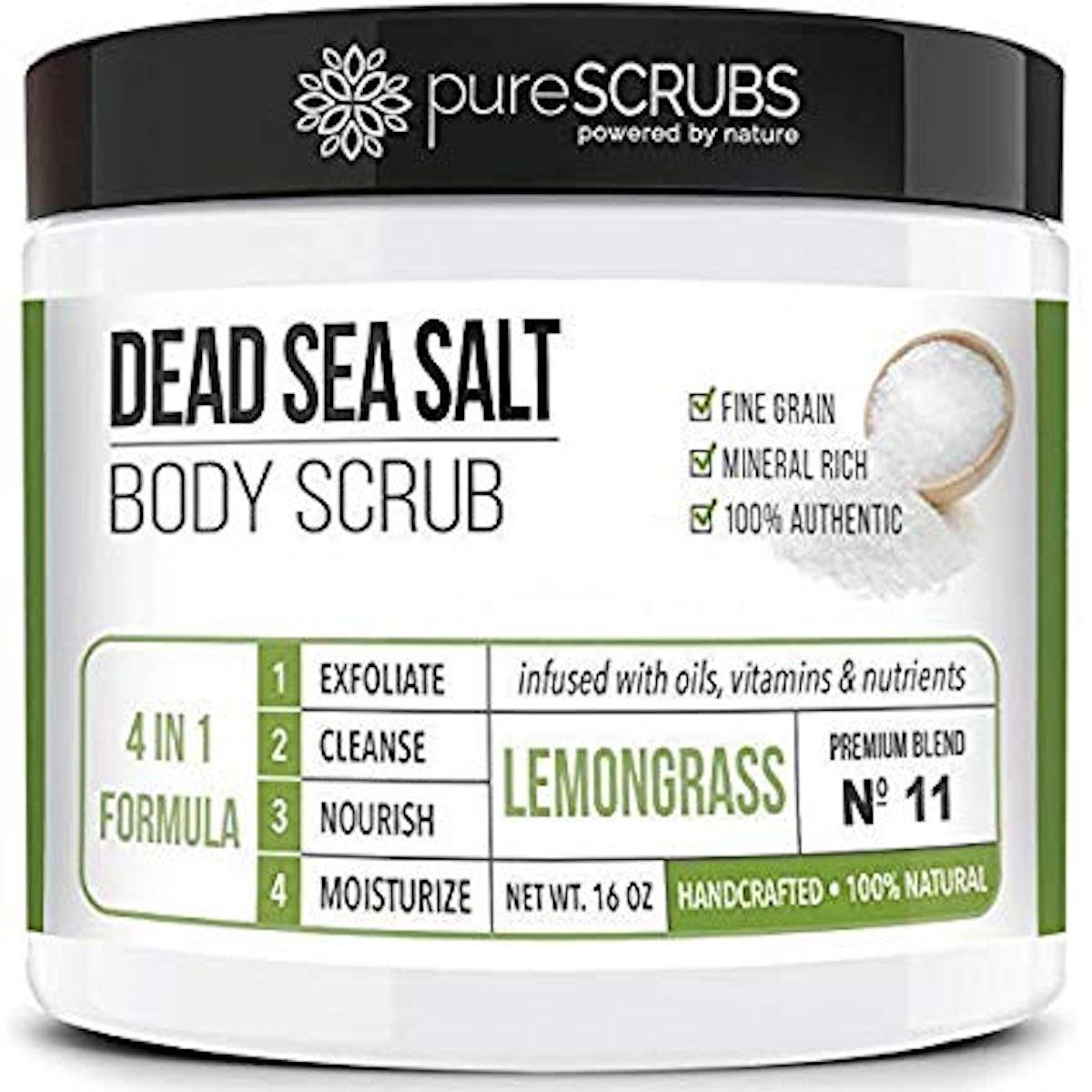 pureScrubs Premium Organic Body Scrub Set