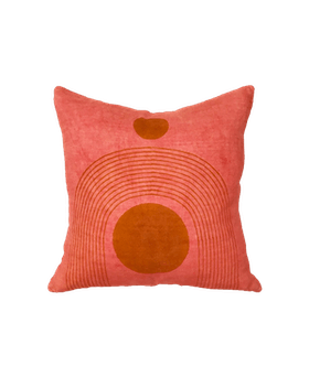 Palace Pillow in Coral